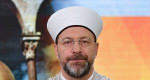 Ali Erbaş Kur'an-ı Kerim'e yapılan saygısızlığa tepki gösterdi
