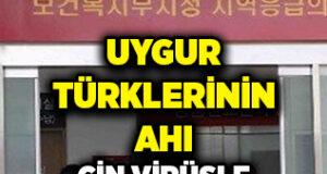 Uygur Türklerine zulmeden Çin'in Allah belasını veriyor