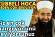 Cübbeli Ahmet Hocanın en sevilen yönleri