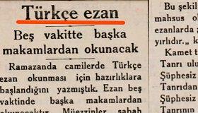 Ezanı Türkçe'ye çevirenler FELAHI neden sansürledi?