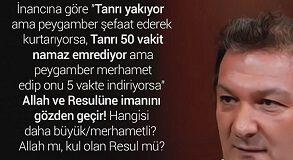 ZEKİ BAYRAKTAR 50 VAKİT NAMAZ VE ŞEFAAT ÇARPITMASI